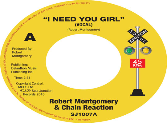 Robert Montgomery & Chain Reaction - I Need You Girl (Vocal & Instrumental)