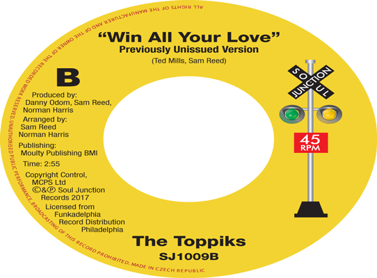 The Toppiks - Win All Your Love