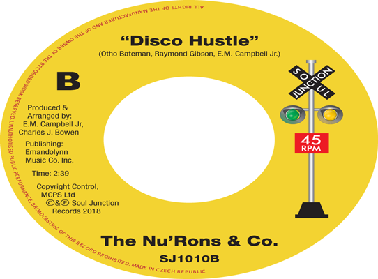 The Nu-Rons - Disco Hustle