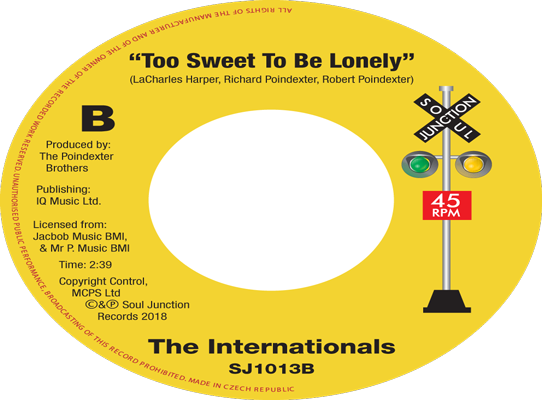 The Internationals - Too Sweet To Be Lonely
